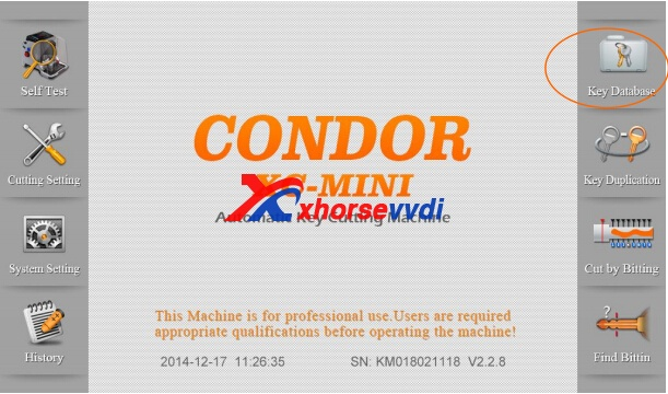 condor-xc-mini-key-database-1