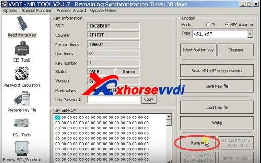 vvdi-mb-tool-renew-virgin-mercedes-nec-key-v57-steps-4