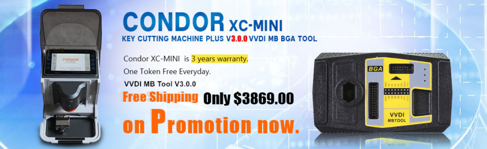 vvdi mb tool plus condor xc-mini