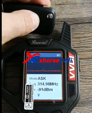 vvdi key tool frequency