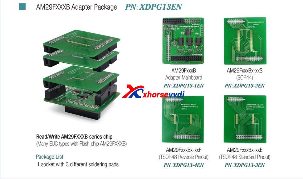 VVDI-Prog-AM29FxxxB-Adapter