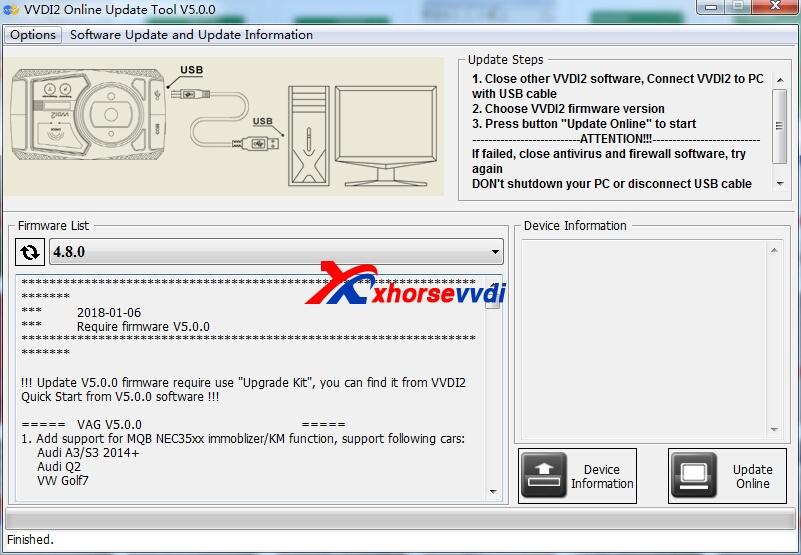 Free Download V5 0 1 VVDI2 Key Programmer Software