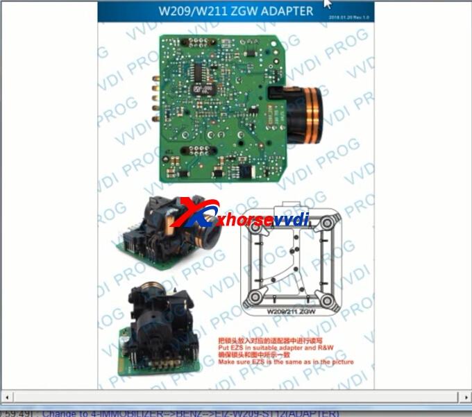read-benz-w209-with-vvdi-prog-w209-zgw-adapter-10
