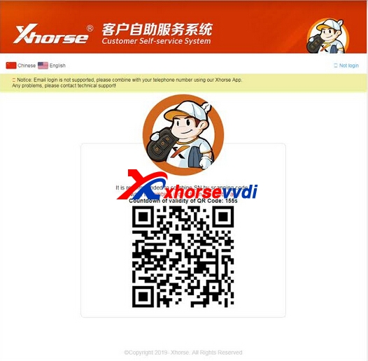 Xhorse Account Register Tips and MINI Key Tool ID48 96bit Activate