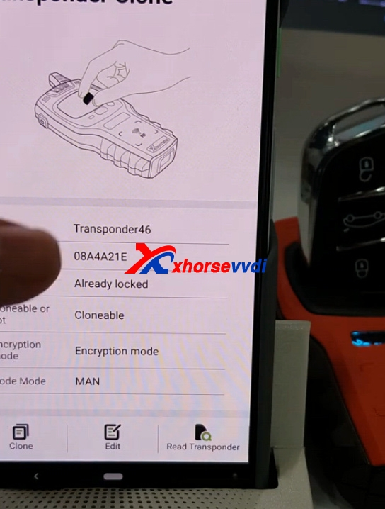 how-to-use-mini-key-tool-generate-mahindra-xylo-id46-chip-with-vvdi-super-remote10