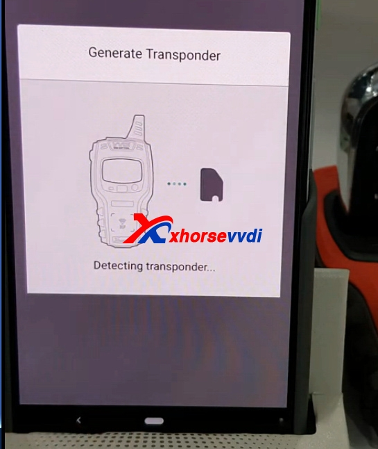 how-to-use-mini-key-tool-generate-mahindra-xylo-id46-chip-with-vvdi-super-remote8