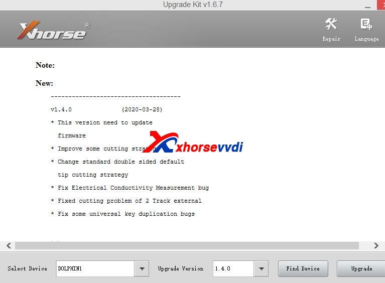 condor-dolphin-xp005-update-v140-1