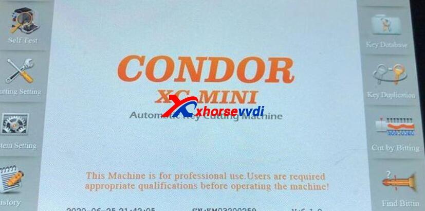 condor-xc-mini-fail-probe-detected-test-error-1