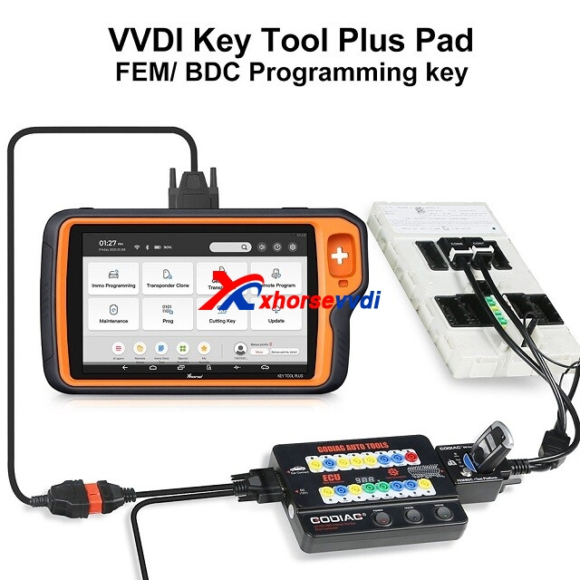 Wiring-diagram-of-GODIAG-FEMBDC-Test-Platform-and-Xhorse-vvdi-key-tool-plus