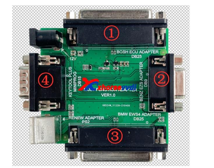 XDKP30-adapter