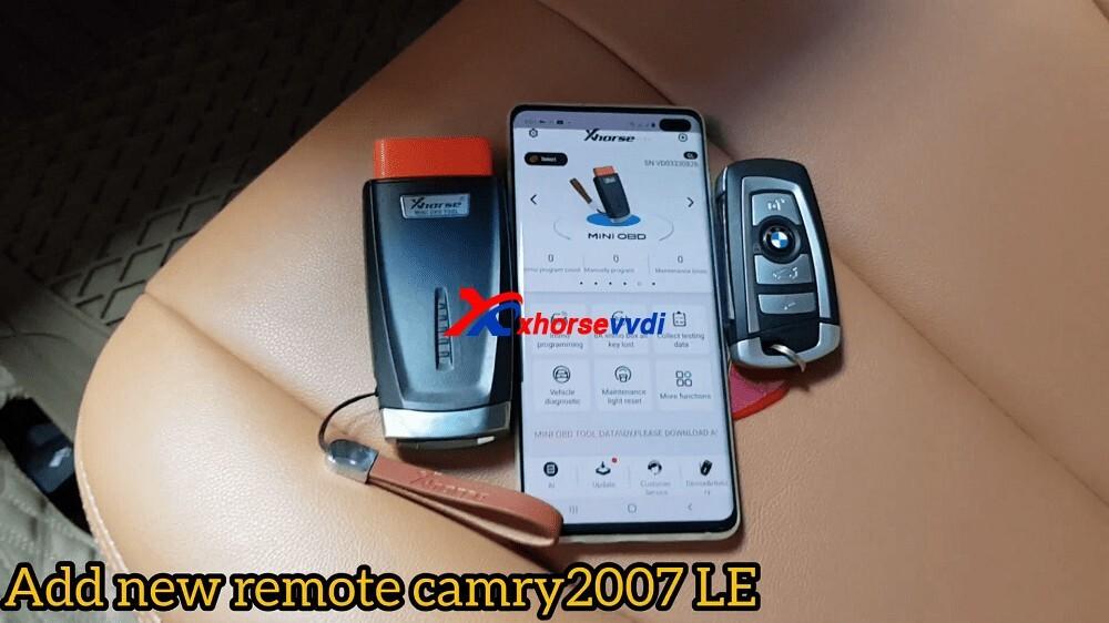 program-remote-Camry-2007-with-mini-OBD-12
