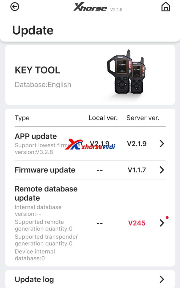 xhorse-key-tool-update