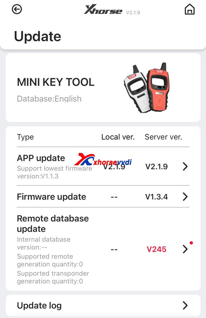 xhorse-mini-key-tool-update