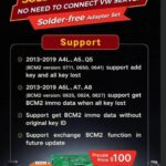 Xhorse BCM2 Solder Free Adapter For Audi
