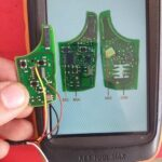 VVDI Key Tool Max Renew C2F377B2 Connection Diagram