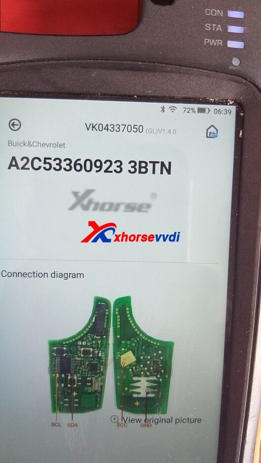VVDI-Key-Tool-Max-Renew-C2F377B2-Connection-Diagram-4