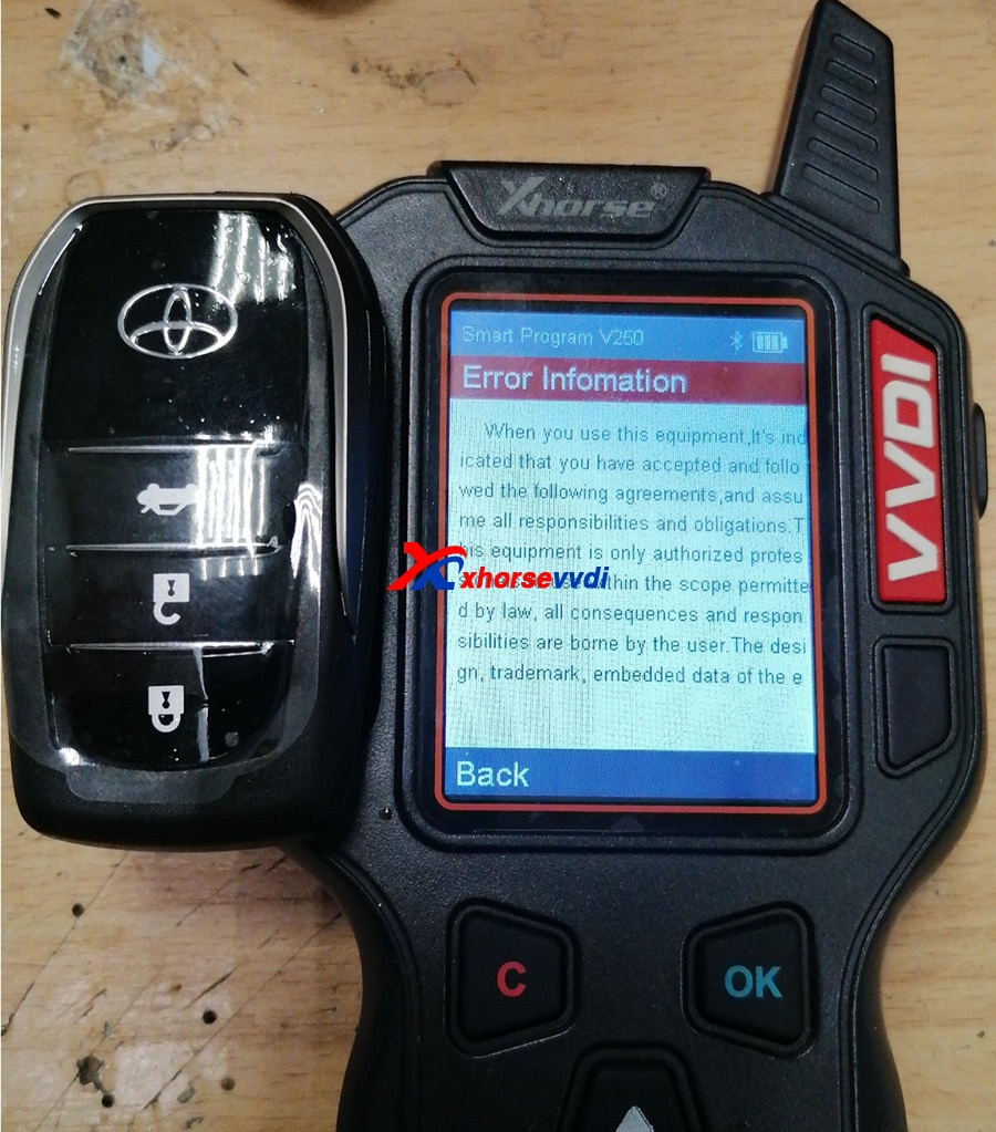 VVDI-Key-Tool-not-support-XM-Smart-2