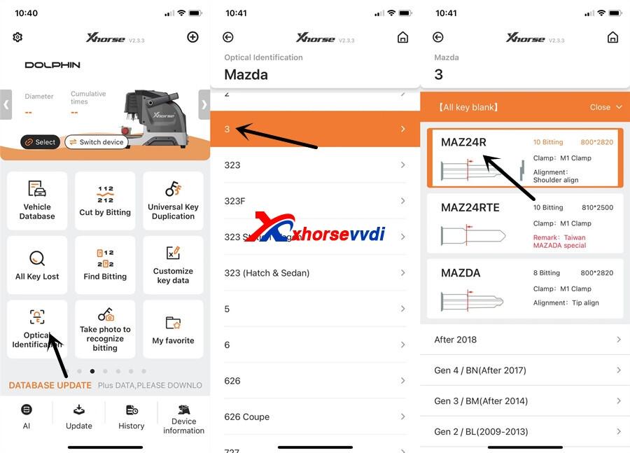 Xhorse-Key-Read-and-Dolphin-XP005-Cut-Mazda-Key-15