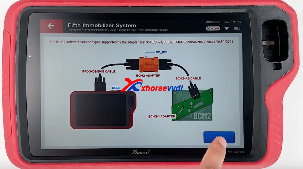 how-to-use-xhorse-audi-bcm2-adapter-with-vvdi-key-tool-plus-2