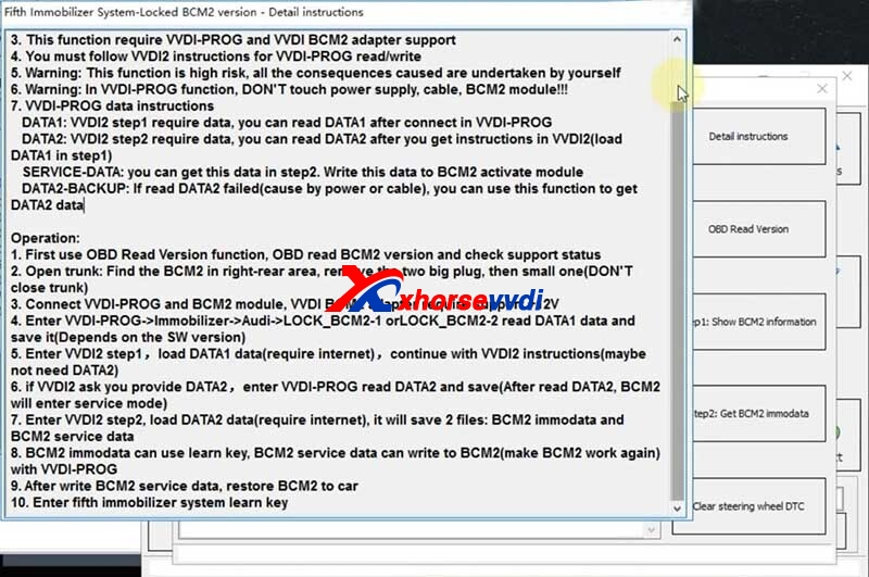 how-to-use-xhorse-audi-bcm2-adapter-with-vvdi-progvvdi2-5