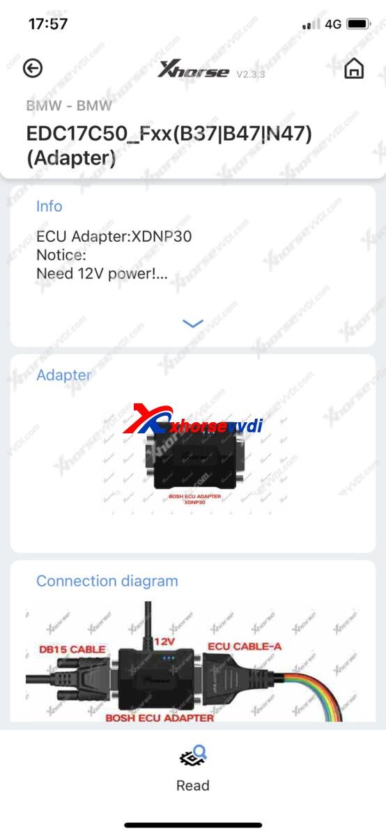 xhorse-mini-prog-read-edc17c50-isn-6