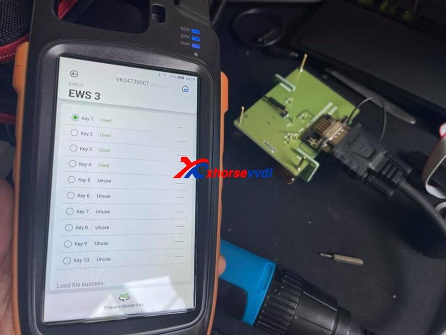 MINI-Prog-and-key-tool-max-read-BMW-EWS-with-XDNP50-EWS3-Adapter-1
